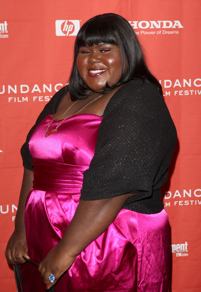 """Actress Gabourey 'Gabby' Sidibe attends the screening of """"Push: Based On The Novel By Sapphire"""" held at the Racquet Club Theatre during the 2009 Sundance Film Festival on January 16, 2009 in Park City, Utah.  (Photo by Jason Merritt/Getty Images) *** Local Caption *** Gabourey Sidibe"""