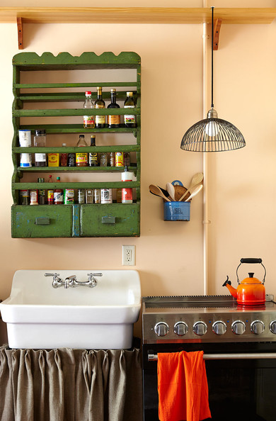 Creole-Style Kitchen - Home Tour: Logan Killen makeover in ... on French Creole Decorating Ideas  id=97404