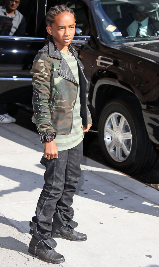 Jaden Smith Leather Jacket Jaden Smith Outerwear Looks