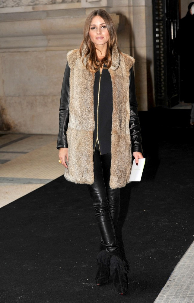 Image result for Olivia Palermo Outfits with vests