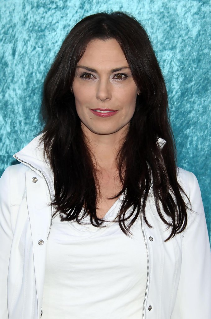 Michelle Forbes Long Straight Cut Looks StyleBistro