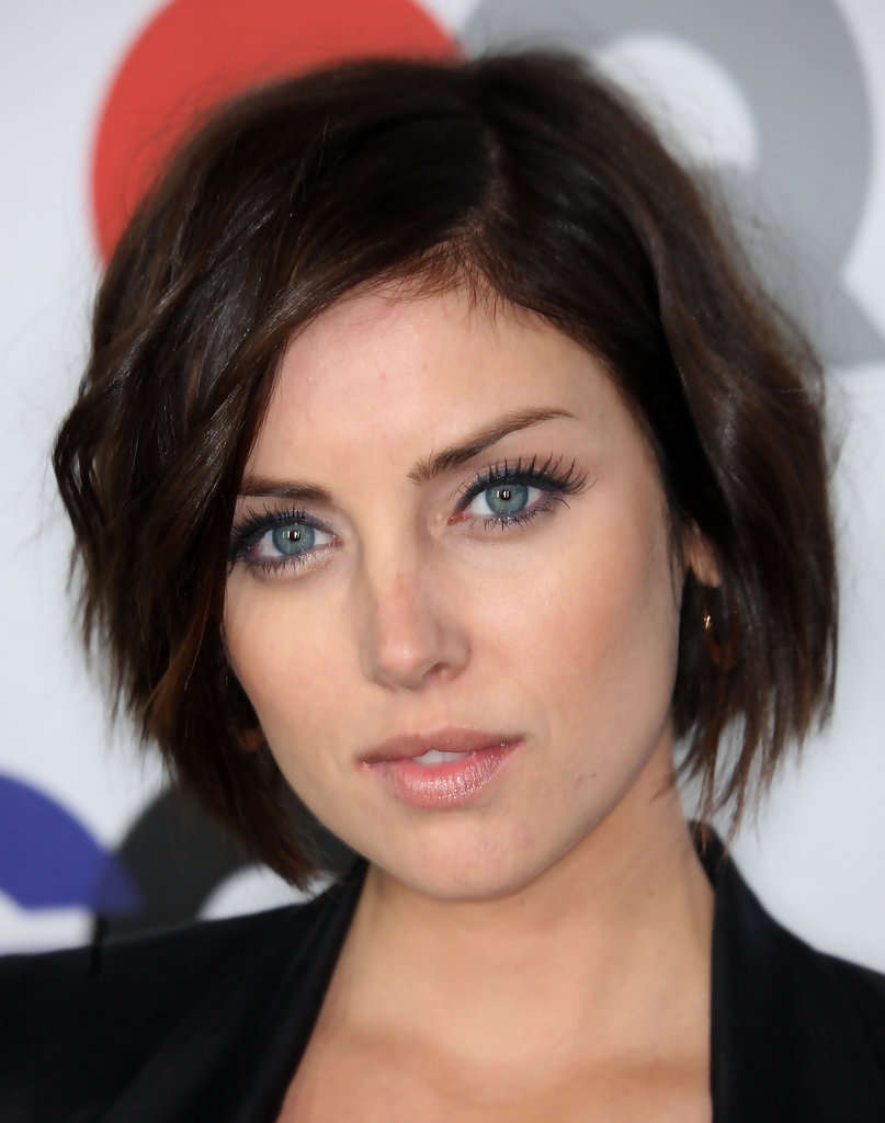 Jessica Stroup Hollywoods Best Bob Hairstyles StyleBistro