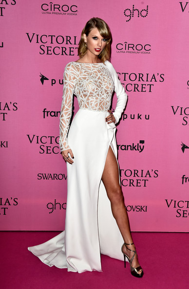 Taylor Swift in Zuhair Murad for the Victoria's Secret Fashion Show