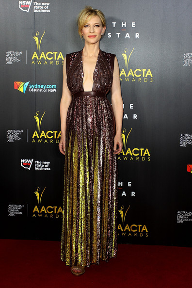 Cate Blanchett in Givenchy at the AACTA Awards