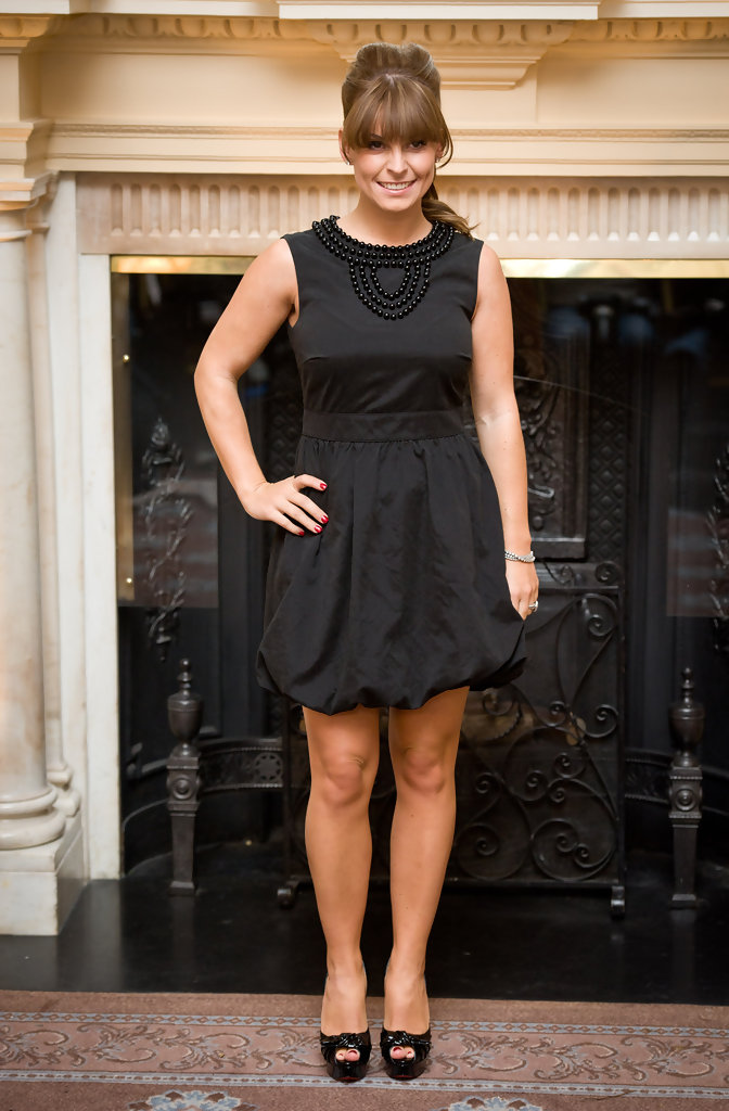 Coleen Rooney Platform Pumps Coleen Rooney Shoes Looks