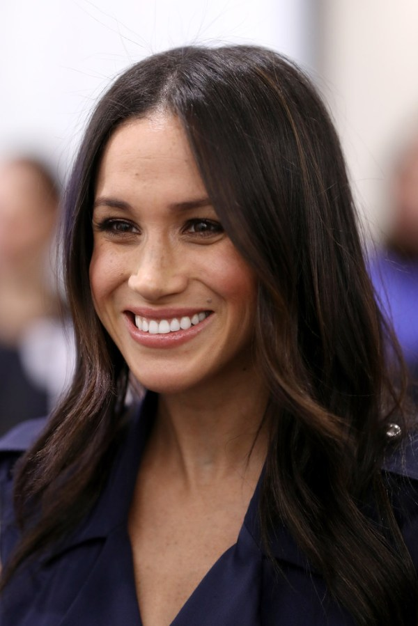 Meghan Markle Long Center Part - Meghan Markle Long ...