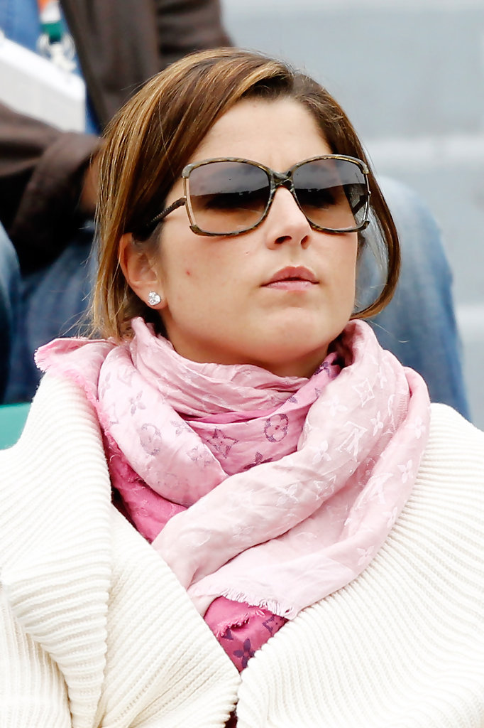 Mirka Federer Patterned Scarf Mirka Federer Accessories