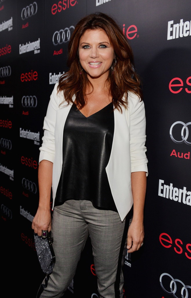 Tiffani Thiessen Blazer Tiffani Thiessen Looks StyleBistro
