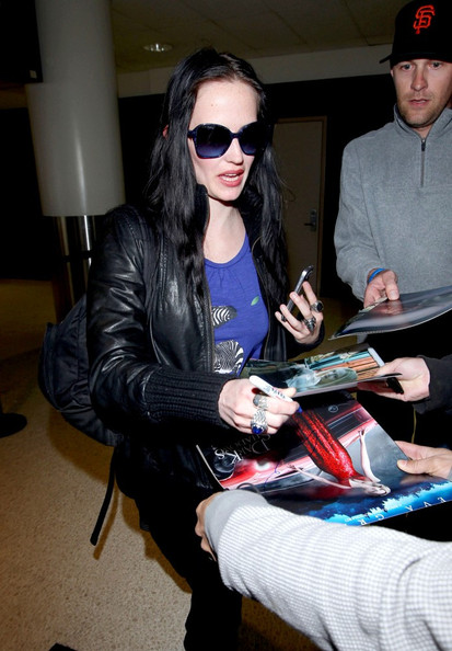 Eva Green at LAX