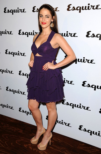 Jessica Lowndes Esquire June issue launch party at Sketch.