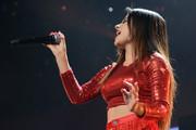 Recording artist Becky G performs onstage at 101.3 KDWB's Jingle Ball 2014 presented by Sky Zone Indoor Trampoline Park and Allstate at Xcel Energy Center on December 8, 2014 in St Paul, Minnesota.
