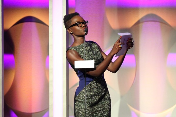 Lupita Nyong'o in 25th Annual GLAAD Media Awards - Show ...