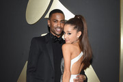 Rapper Big Sean and Singer Ariana Grande attend The 57th Annual GRAMMY Awards at the STAPLES Center on February 8, 2015 in Los Angeles, California.
