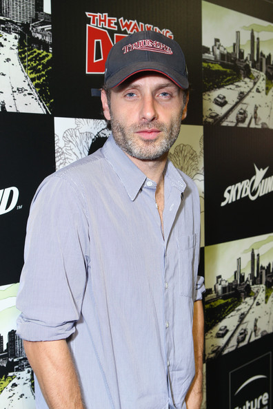 "Andrew Lincoln - ""The Walking Dead"" 100th Issue Black-Carpet Event Powered By Hyundai And Future US"