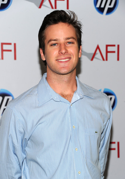 Armie Hammer - Eleventh Annual AFI Awards - Arrivals