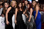 (L-R) Actresses  Desi Lydic, Nikki Deloach, Jillian Rose Reed and  Molly Tarlov attend The 41st Annual People's Choice Awards at Nokia Theatre LA Live on January 7, 2015 in Los Angeles, California.