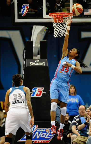 Angel McCoughtry in Atlanta Dream v Minnesota Lynx - Game ...