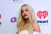 Singer Rita Ora poses backstage at the Q102's Jingle Ball 2014 at Wells Fargo Center on December 10, 2014 in Philadelphia, Pennsylvania.