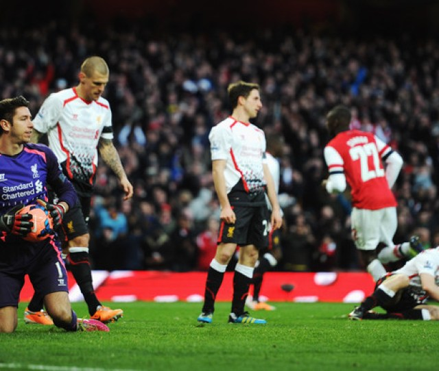 Arsenal V Liverpool Fa Cup Fifth Round