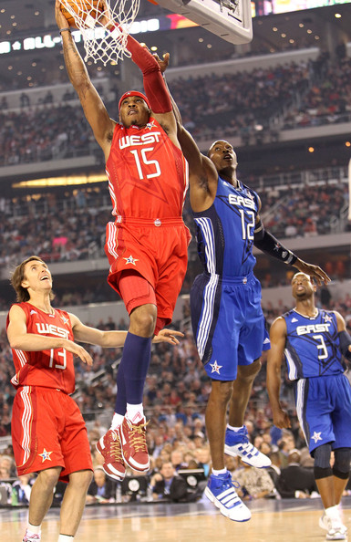 Dwayne Wade and Carmelo Anthony - 2010 NBA All Star Game