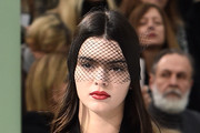 Model Kendall Jenner walks the runway during the Chanel show as part of Paris Fashion Week Haute Couture Spring/Summer 2015 on January 27, 2015 in Paris, France.