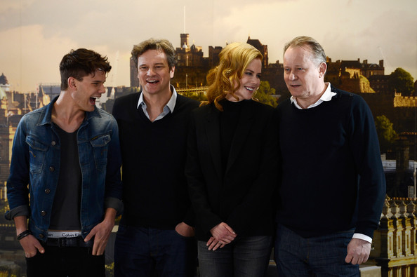 Colin Firth - Nicole Kidman And Colin Firth Launch The Filming Of Railway Man
