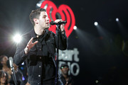 Nick Jonas performs onstage during 93.3 FLZÂ's Jingle Ball 2014 at Amalie Arena on December 22, 2014 in Tampa, Florida.