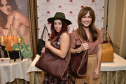 Actresses Jillian Rose Reed (L) and Nikki Deloach attend the HBO Luxury Lounge featuring PANDORA Jewelry at Four Seasons Hotel Los Angeles at Beverly Hills on January 10, 2015 in Beverly Hills, California.