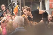 Musician Hunter Hayes performs on NBC's 'Today' at the NBC's TODAY Show on August 22, 2014 in New York City.