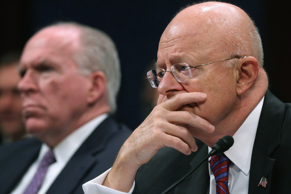 Image result for clapper and john brennan, photos