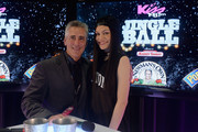 Radio personality Billy Costa (L) and Jessie J attend KISS 108's Jingle Ball 2014, presented by Market Basket Supermarkets at TD Garden on December 14, 2014 in Boston, Massachusetts.