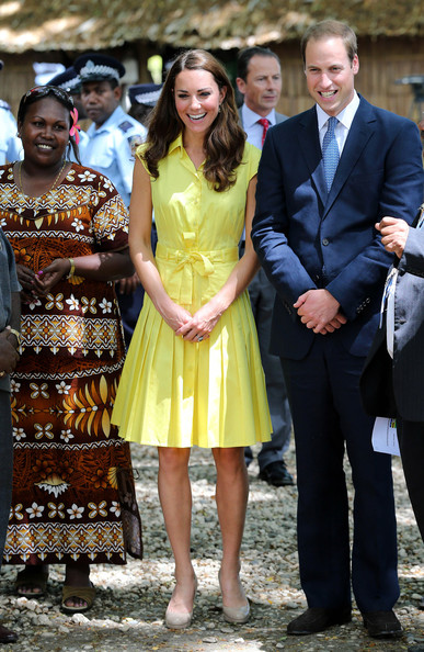Kate Middleton - The Duke And Duchess Of Cambridge Diamond Jubilee Tour - Day 7