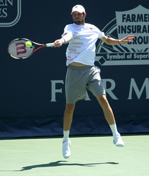 Mardy Fish - Farmers Classic presented by Mercedes-Benz - Day 6