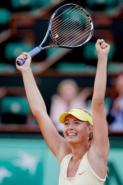 Maria Sharapova - 2011 French Open - Day Nine