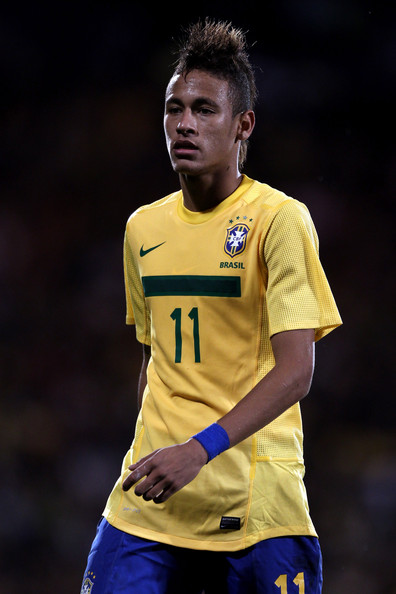 neymar and his hair