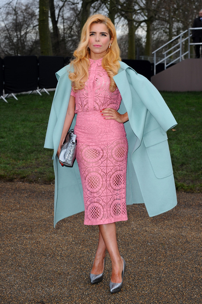 paloma faith a burberry