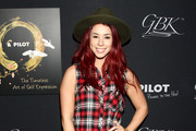 Actress Jillian Rose Reed attends the Pilot Pen and GBK Luxury Lounge honoring Golden Globe nominees and presenters held at the W Hollywood on January 10, 2015 in Hollywood, California.