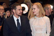 (L-R) Actor James Franco and actress Nicole Kidman attend the 'Queen of the Desert' premiere during the 65th Berlinale International Film Festival at Berlinale Palace on February 6, 2015 in Berlin, Germany.