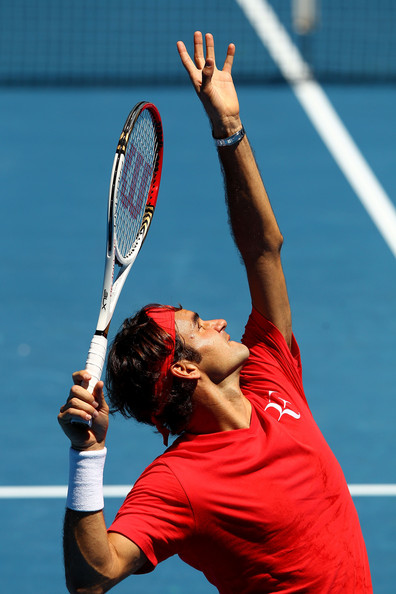 Roger Federer - 2012 Australian Open Previews