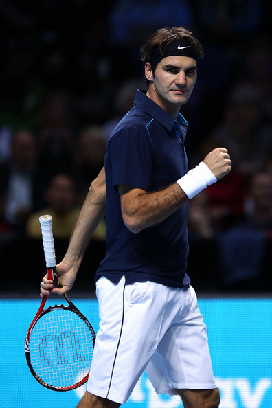 Roger Federer - ATP World Tour Finals - Day Five
