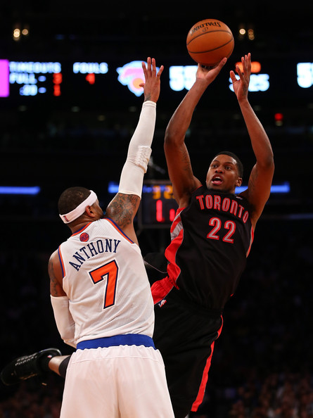 Rudy Gay - Toronto Raptors v New York Knicks