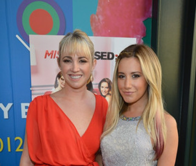Ashley Tisdale Jennifer Tisdale The Season Premiere Viewing Party Of Bravos Miss Advised Hosted