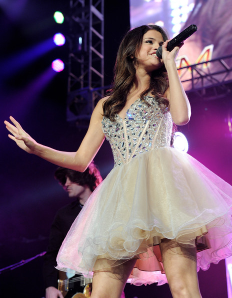 Selena Gomez Singer/actress Selena Gomez performs at KIIS FM's Wango Tango at the Staples Center on May 14, 2011 in Los Angeles, California.