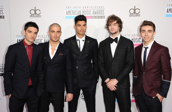 Tom Parker - The 40th American Music Awards - Arrivals