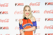 Rita Ora attends Z100 & Coca-Cola All Access Lounge at Z100's Jingle Ball 2014 pre-show at Hammerstein Ballroom on December 12, 2014 in New York City.