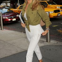 Hot Stepping with Christie Brinkley - New York City Street Style