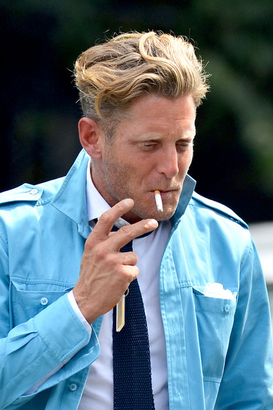 Lapo Elkann Lunches At Bar Pitti Zimbio