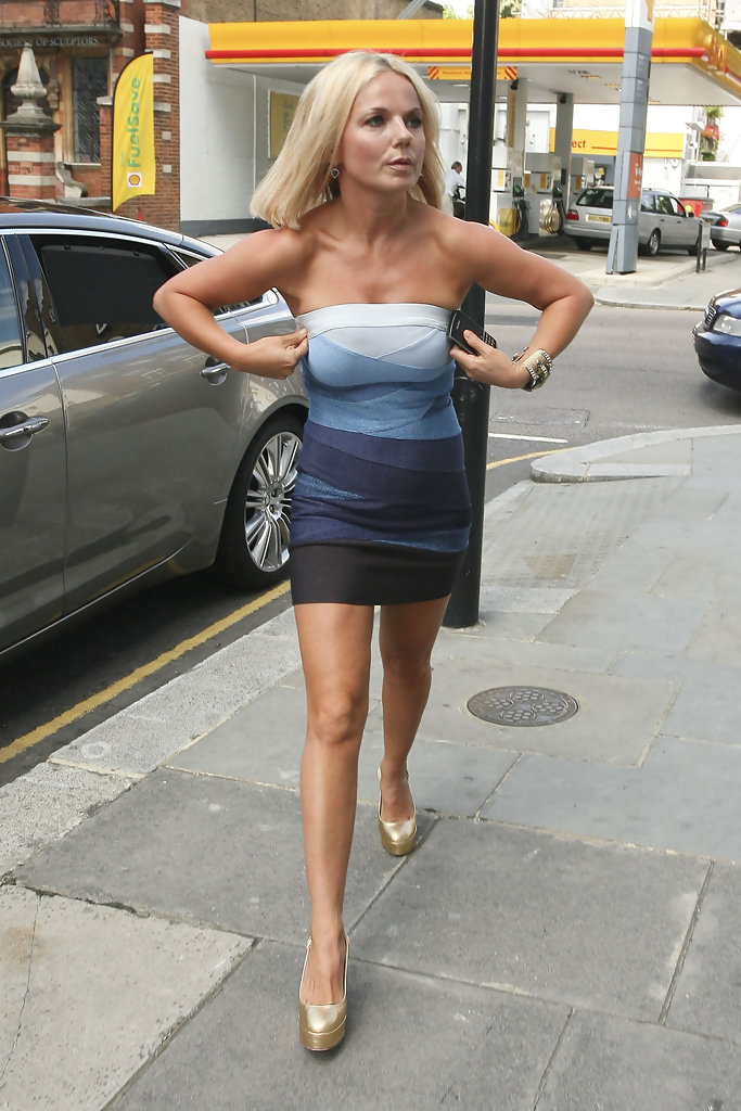 Geri Halliwell Out And About With Henry Beckwith Zimbio