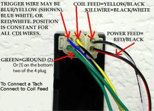 My CDI has both DC and AC wires connected why ? | It Is