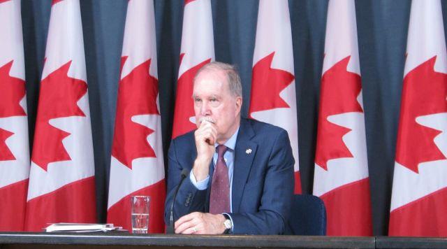 Le commissaire aux langues officielles du Canada, Graham Fraser. Archives #ONfr